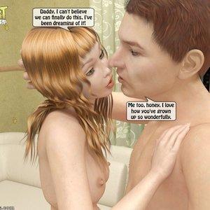 IncestIncestIncest Comics Daddys Lust for his Little Princess gallery image-017