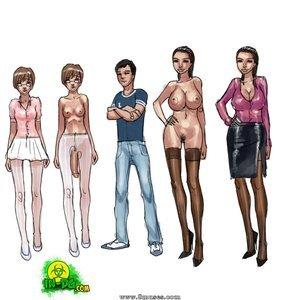 Christine And Professor Innocent Dickgirls Comics