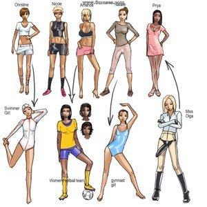 The Olympic Pearl Innocent Dickgirls Comics