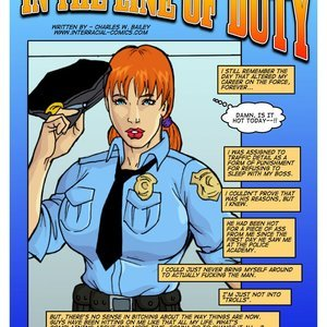 In the Line of Duty (Interracial-Comics) thumbnail