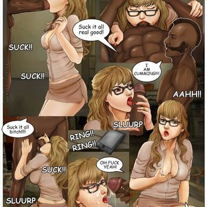 InterracialComicPorn Comics Accident Punishment gallery image-006