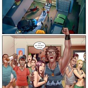 InterracialComicPorn Comics Slut Professor - Issue 3 gallery image-009