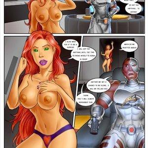 InterracialComicPorn Comics Superheros - Issue 1 gallery image-010