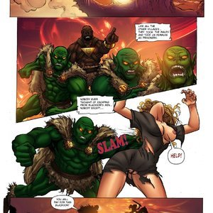 The Warrior InterracialComicPorn Comics