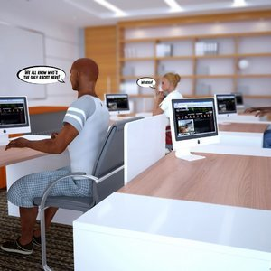 Antiracist School Lesson InterracialSex3D Comics