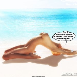 BBC Cum Slut On Vacation InterracialSex3D Comics