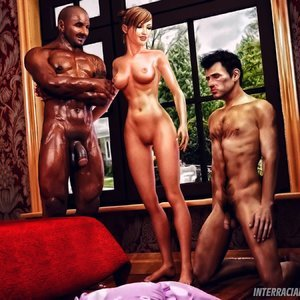 Cuckold Husband Initiation InterracialSex3D Comics