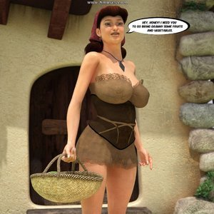 Red Riding Hood InterracialSex3D Comics