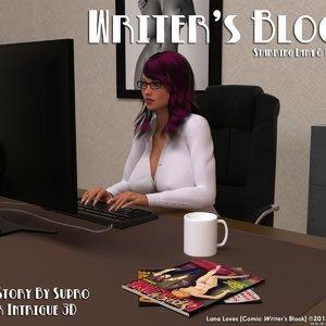 Writers Block Intrigue3d Comics