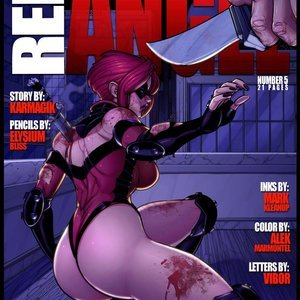 Red Angel 5 (JAB Comics) thumbnail