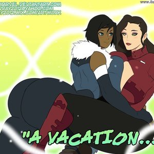 Korrasami – A Vacation Jay Marvel Comics