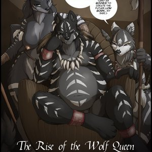 The Rise of the Wolf Queen – Issue 4 (Jay Naylor Furry Comics) thumbnail