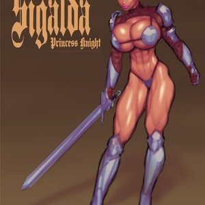 Sigalda The Princess Knight comic 001 image