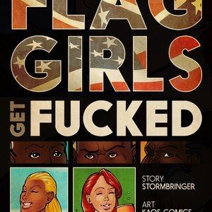 The Flag Girls Get Fucked KAOS Comics