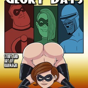 Elastigirl in Glory Days (Karmagik Comics) thumbnail