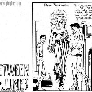 Between The Lines Kevin Taylor Adult Comics