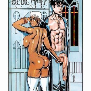 Boy Blue and Marty Kevin Taylor Adult Comics