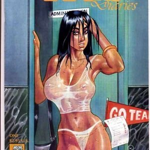 Co-ed diaries Kevin Taylor Adult Comics