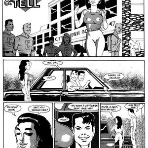 Show and Tell Kevin Taylor Adult Comics