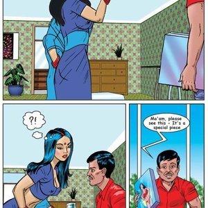 Kirtu Comics Savita Bhabhi - Episode 1  Bra Salesman gallery image-004