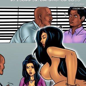 Savita Bhabhi – Episode 52 – Bahenchod Boss Kirtu Comics