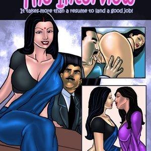 Savita Bhabhi – Episode 8  The Interview Kirtu Comics