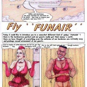 Fly Funair Kurt Marasotti Comics