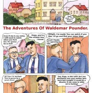The Adventures of Waldemar Pounder Kurt Marasotti Comics