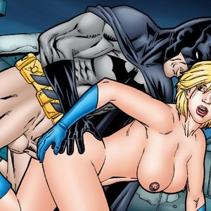 Batman & Power Girl comic 001 image