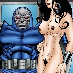 Wonder Woman has kinky fun with the evil Darkseid comic 001 image
