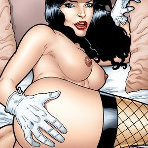 Zatanna getting her pussy filled in POV LeandroComics Collection