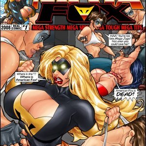 Mega Fox Legio Studio Comics