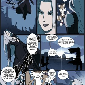 Tails vs Sephiroth Lemonfont Comics