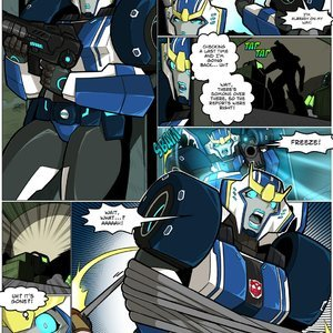 Transformers MAD-Project Comics