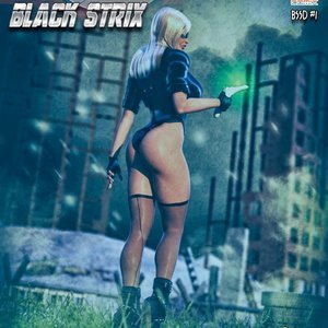 Black Strix – Shutdown – Issue 1-10 MC Comix