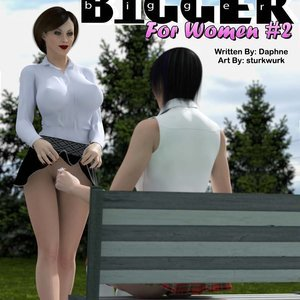 Bigger For Women - Issue 2 comic 001 image