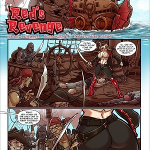 Reds Revenge – Issue 1 Mana World Comics