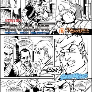 Veronika Red – Hard as Iron (Mana World Comics) thumbnail