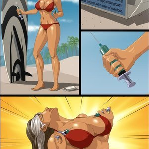 Surfer Girl Mangrowing Comics