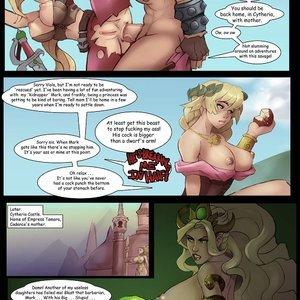 Rastaba Meets Nell Markydaysaid Comics