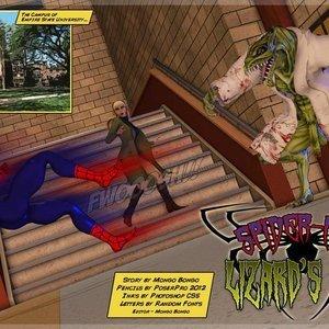 Spiderman – Lizards Tail MongoBongo Comics