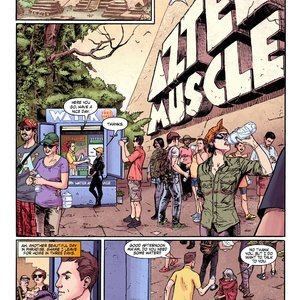 MuscleFan Comics Aztec Muscle - Issue 1 gallery image-003