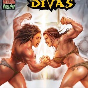 MuscleFan Comics Dueling Divas - Issue 1 gallery image-001