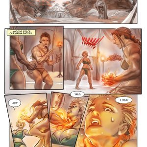 MuscleFan Comics Dueling Divas - Issue 1 gallery image-004