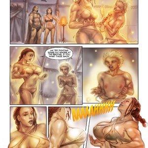MuscleFan Comics Dueling Divas - Issue 1 gallery image-005