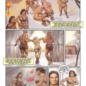 MuscleFan Comics Dueling Divas - Issue 1 gallery image-006