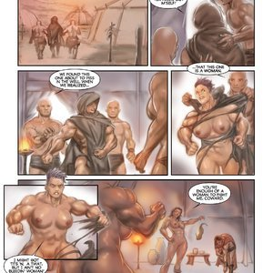 MuscleFan Comics Dueling Divas - Issue 1 gallery image-008