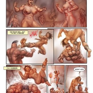 MuscleFan Comics Dueling Divas - Issue 1 gallery image-009