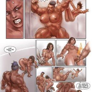 MuscleFan Comics Dueling Divas - Issue 1 gallery image-010