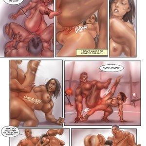 MuscleFan Comics Dueling Divas - Issue 1 gallery image-011